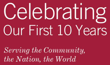 The Program in Public Health is Celebrating Our First 10 Years!